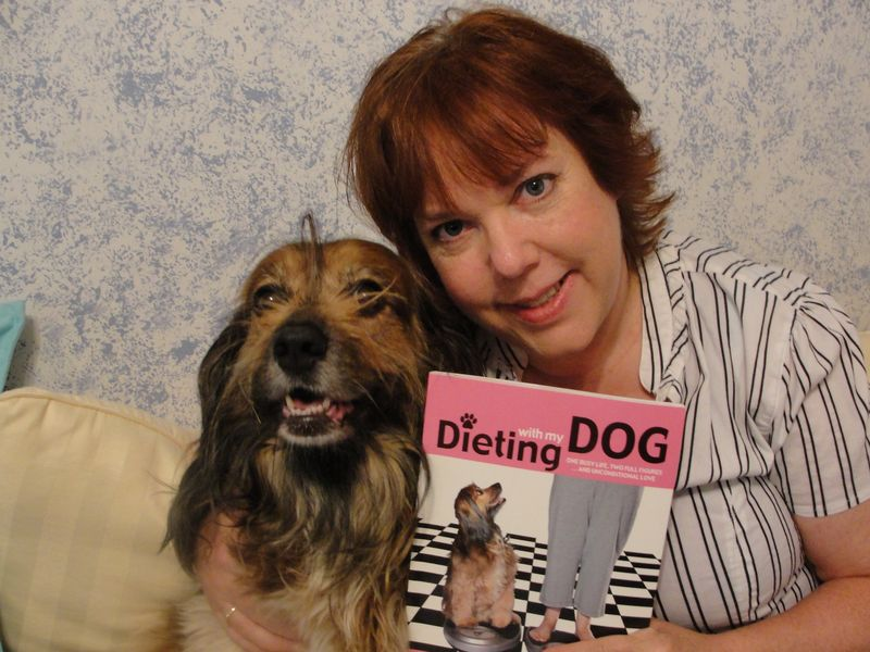 Interview With :   Peggy Frezon, Popular Pet Columnist and Author of her new book, Dieting with My Dog